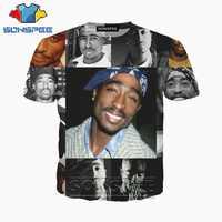 Anime 3d juego estampado camiseta streetwear hip hop 2pac rock rap dj hombres mujeres moda camiseta Harajuku niños camisetas homme camiseta A227