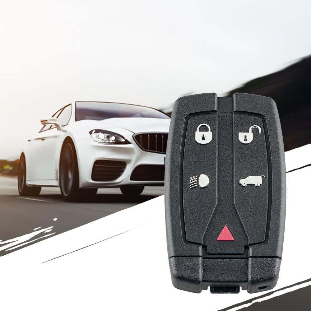 Mini Remote Key Case For Land Rover Freelander 2 5 Button Remote Smart Key Fob Case Shell Blade