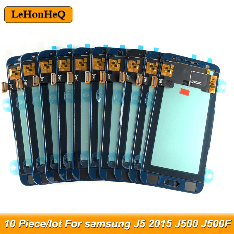 10 Piece/lot incell TFT LCD For <font><b>Samsung</b></font> <font><b>Galaxy</b></font> <font><b>J5</b></font> <font><b>2015</b></font> <font><b>J500</b></font> J500F J500H LCD Display Touch Screen Digitizer Assembly image