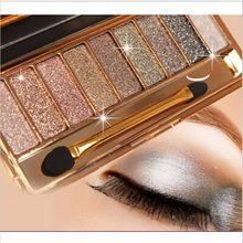 Pallete Eyeshadow-Palette Glitter-Pigment Holographic Matte Diamond Metallic Shiny Valentine's-Day