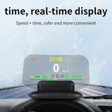 VODOOL – T1 pour Tesla modèle 3 Y, affichage tête haute, projecteur de vitesse, système d'alarme d'avertissement de survitesse, Guide de vitesse, affichage de la batterie
