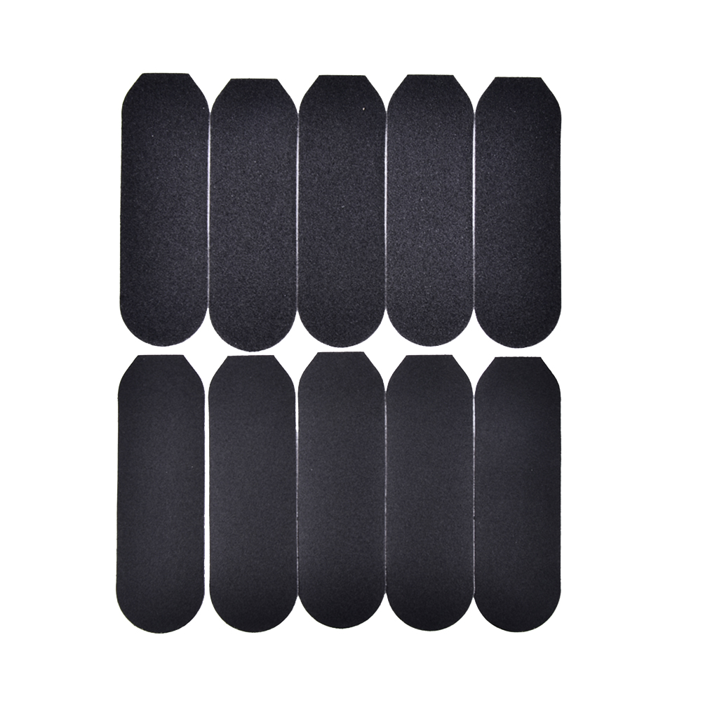 10pcs/lot Professional Care Stainless Metal HandleRefill Replacement Foot Rasp Dry Sanding Paper For  Remover Foot Files Tool