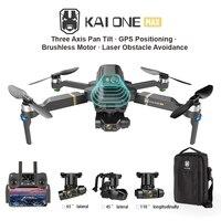 2021 neue KAI ONE Max Drone 8k HD Mechanische 3-Achsen Gimbal Dual Kamera 5G Wifi GPS professionelle Fotografie Rc Quadcopters