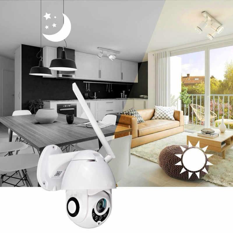 Caméra IP sans fil Neng 1080P HD 2MP PTZ WiFi caméra de sécurité dôme de vitesse caméra de sécurité bidirectionnelle audio extérieure étanche caméra