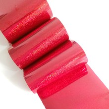 Holographic Nail Sticker Holo Starry Transfer Foil Dust Glitter Laser Red Manicure Tools 100cm 8 colors