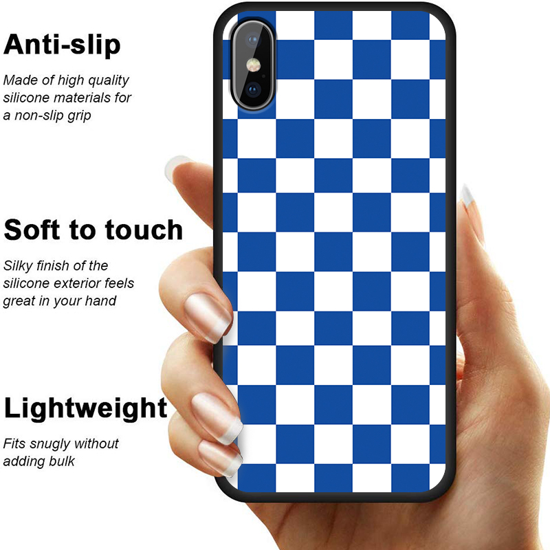 Plaid Pokrowiec Phone Cover Made Of High Quality Silicone Material For A Non Slip Grip 3