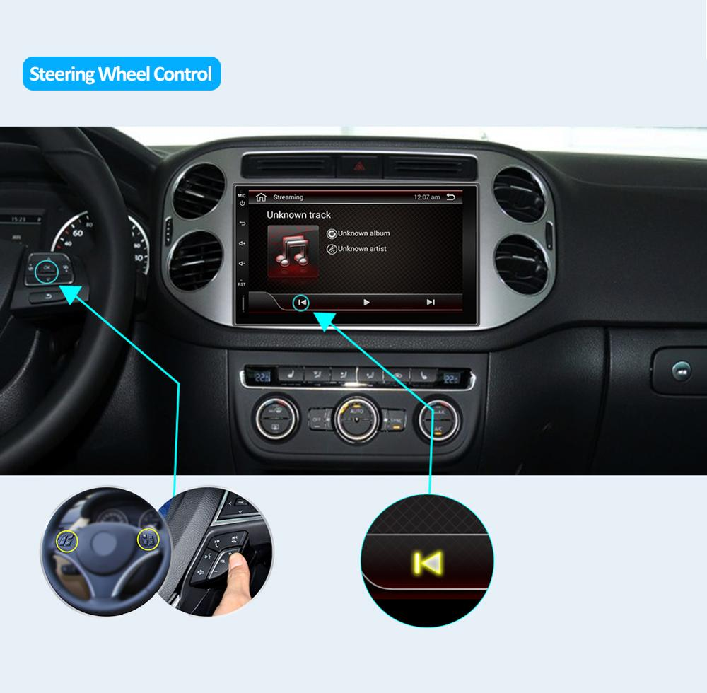 Image 2 - PX6 4G+64G 2din car radio gps android 9.0 car stereo player recorder Radio Tuner GPS Navigation support steering wheel control-in Car Multimedia Player from Automobiles & Motorcycles