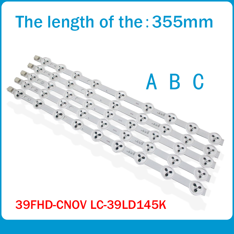 5pcs 355mm ABC Type For LG 39'' TV 9FLHY168D 39PF3025D 39FHD-CNOV LC-39LD145K VES390UNDC-01 VES400UNDS-02 Original