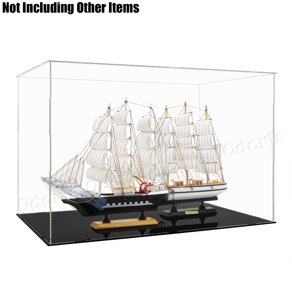 """Display Case Self-assemble Ship included Acrylic 32/"""" 35/"""""""
