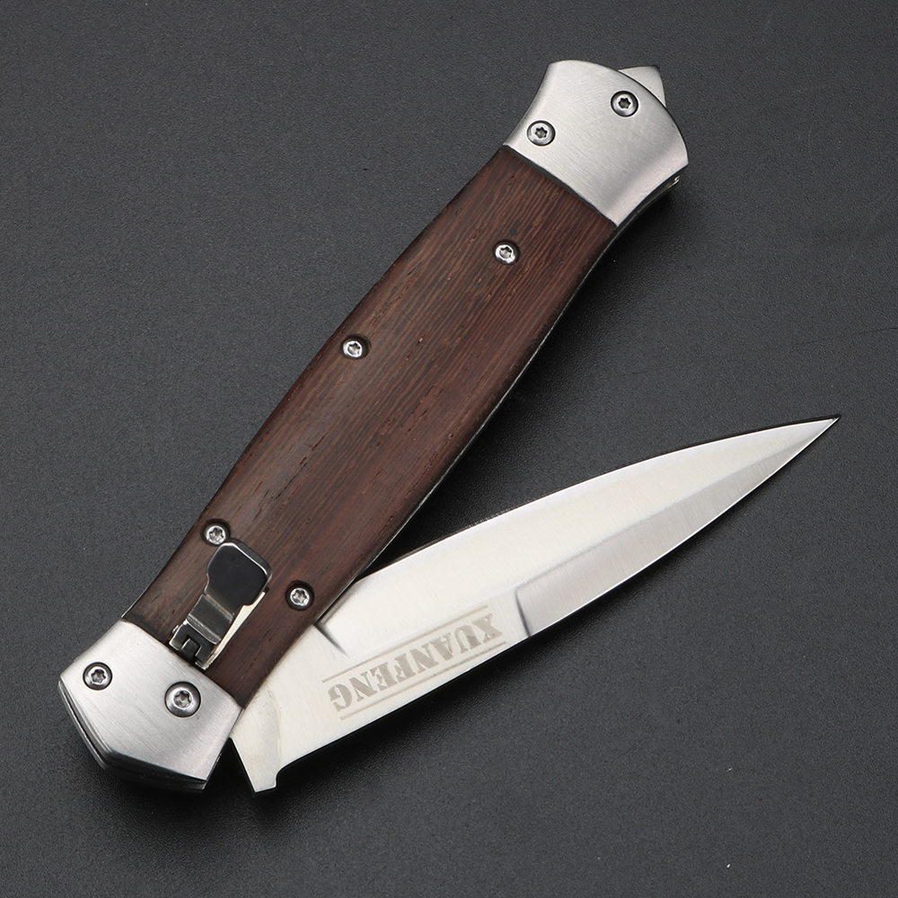 EDC Folding Steel 5Cr15 Knives  57HRC Pocket Folding Tools Outdoor With Blade Survival Clip Knife Camping Blade Knifes
