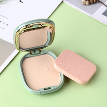 Moisturizing Face Powder Mineral Foundations Oil-control Brighten Concealer Whitening Make Up Pressed With Puff cosmatics
