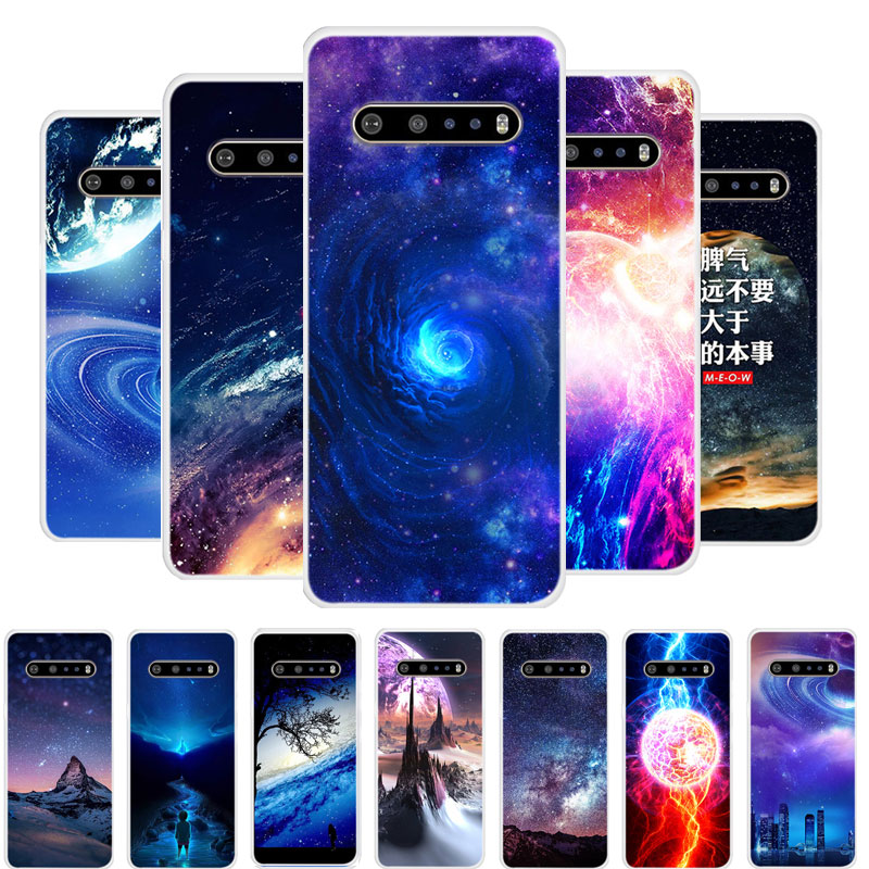 Case For LG V60 Thinq 5G Case Cover Planet Silicone Soft TPU Funda For LG V60 Thinq Phone Case Coque For LG V60 LGV60 V 60 Capa
