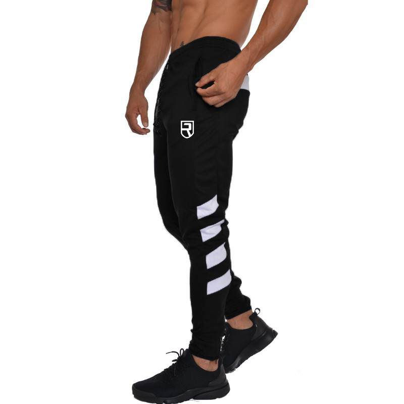 2019 New Men Joggers Brand Male Trousers Casual Pants Sweatpants Men Gym Muscle Fitness Workout Hip Hop Elastic Pants
