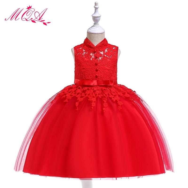 2018 Europe And America New Style CHILDREN'S Dress Puffy Princess Dress Gauze Children Dress