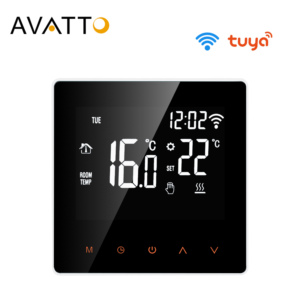 Tuya WiFi Smart Thermostat Programmable Temperature Controller for Electric B3W5