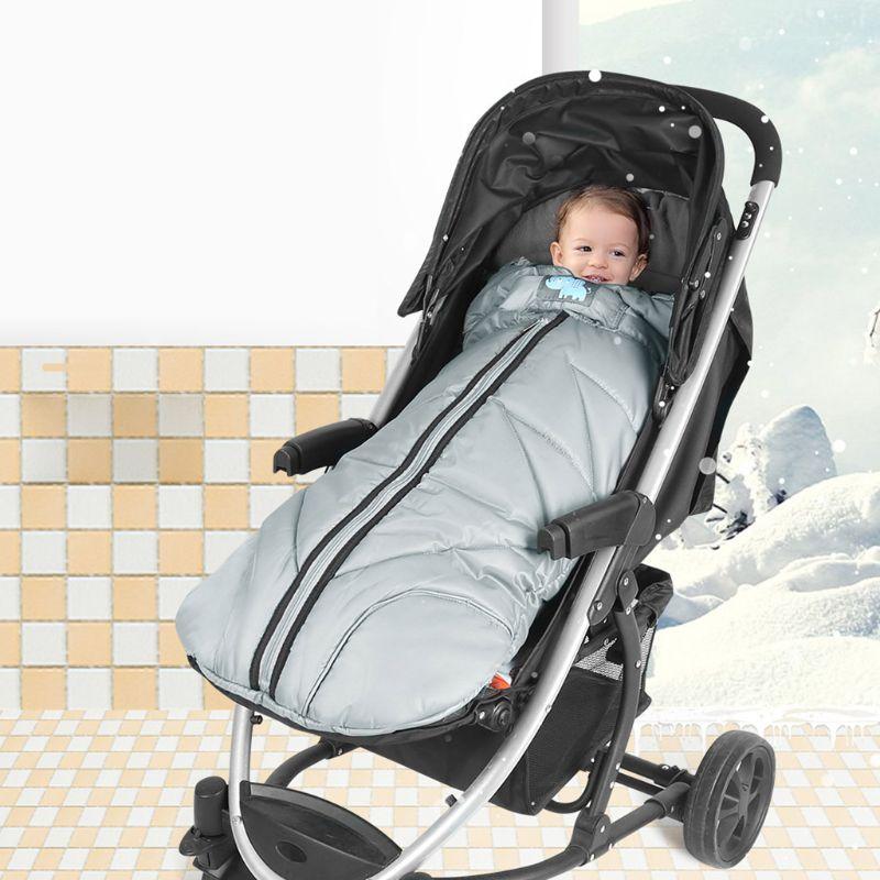 Infant Stroller Sleeping Bag Winter Baby Warm Footmuff Anti-kicking Sleepsack  NEW
