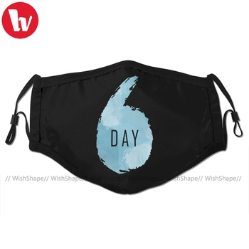 Kpop Day6 Mouth Face Mask Facial Funny Kawai with 2 Filters for Adult
