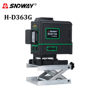 SNDWAY Laser Level 3D 12 Lines Green Bea