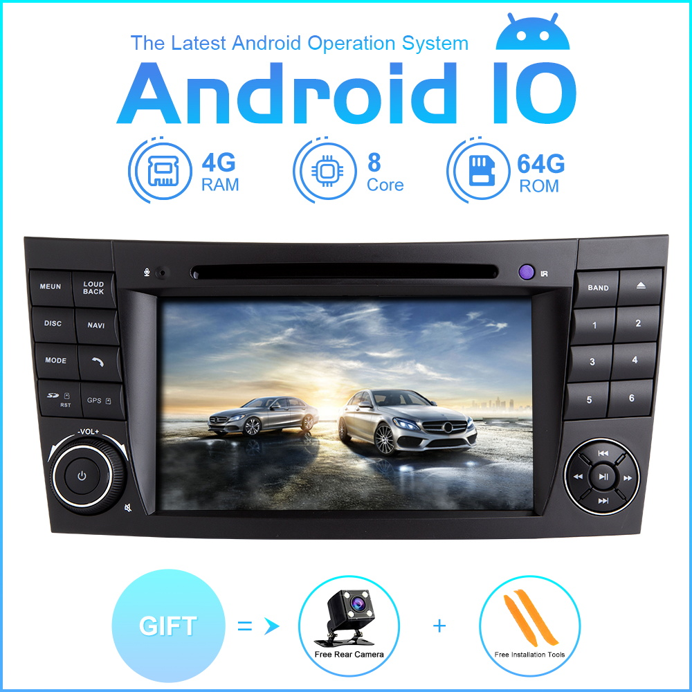 ZLTOOPAI Eight Core Car Multimedia Player Android 10 Auto Stereo For Mercedes Benz E-Class W211 E300 CLK W209 CLS W219 GPS Radio image