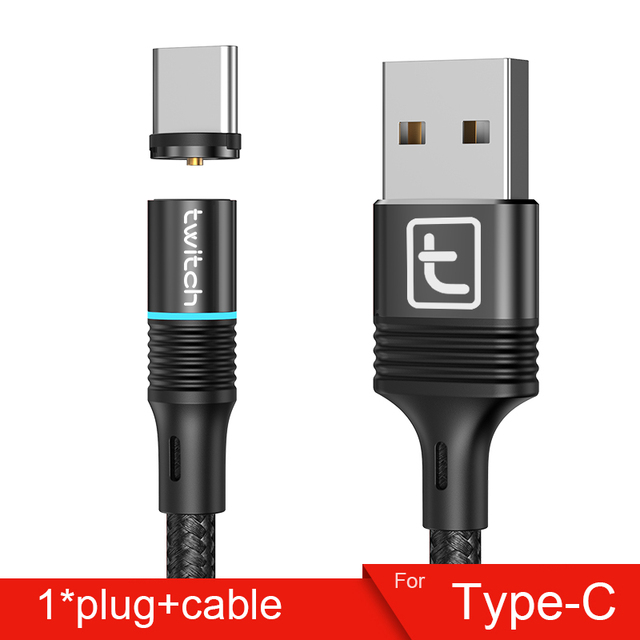 Black Type-C Cable