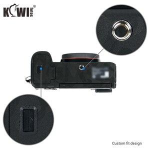 Image 2 - Cámara cuerpo etiqueta engomada para Sony A7C cubierta de la piel de la Anti Protector de arañazos de la piel Kit Anti deslizante Cámara accesorios de decoración