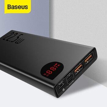 Baseus Power Bank 20000mAh Tragbare Schnelle Aufladen Power USB Typ C PD Qucik Ladung 3,0 Poverbank Externe Batterie Ladegerät