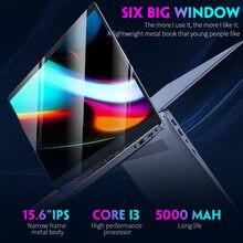 15.6 Inch Metalen Laptop Intel Core I3 5005U Quad Core 8 Gb Ram 512 Gb Ssd Notebook Windows10 Computer Hdmi Wifi USB3.0 RJ45 Gigabit