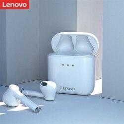 Ordinateur Portable d'origine Lenovo QT83 TWS Sans Fil Écouteurs Bluetooth Avec Suppression Du Bruit HD Appel Écouteurs Contrôle Tactile Stéréo Casque basse
