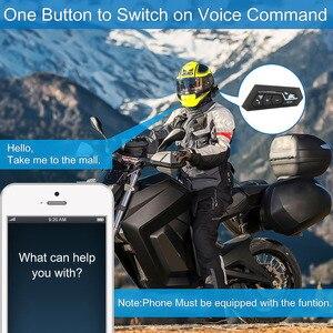 Image 2 - Bluetooth 5.0 Motor Helm Headset Draadloze Handsfree Stereo Oortelefoon Motorhelm Hoofdtelefoon Mp3 Speaker Helm Intercom