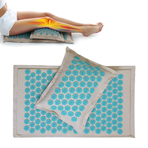 Image 5 - Spike Mat Acupressure Mat, Massage Mat Acupuncture Pillow Set Yoga Mat Needle Relieve Back, Neck and Sciatic Pain, Relax Muscles