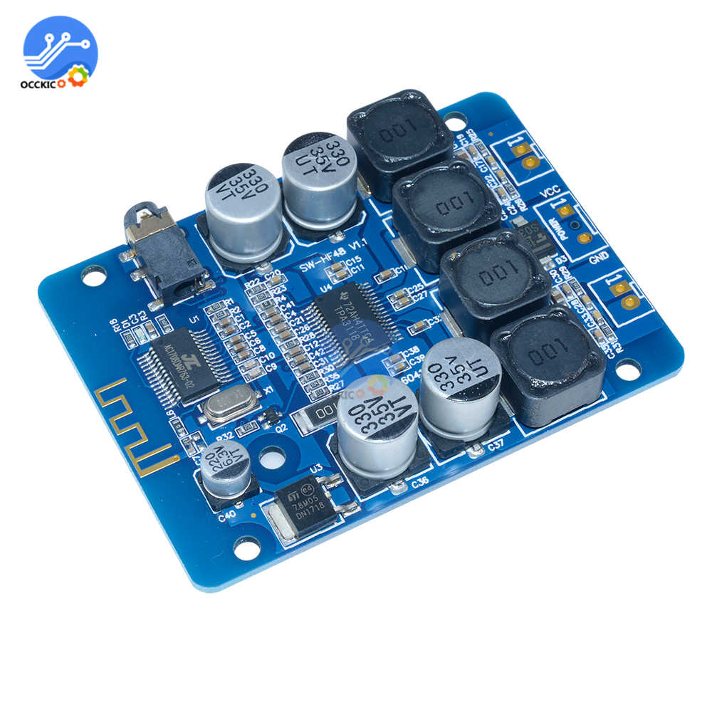 amplifier board DC8~26V TPA3118 2x30W Bluetooth Audio Amplifier Module Wireless Dual Channel Class D Stereo Digital speaker|Operational Amplifier Chips| |  - title=