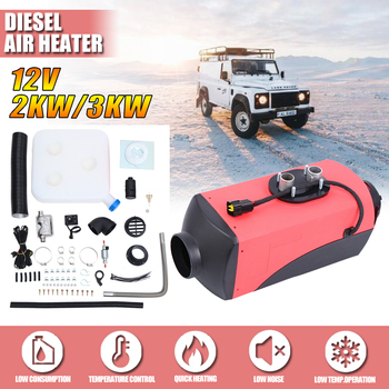Single/4 Holes Air diesels Heater 5KW Adjustable 12V Car Air Heater LCD Parking Heater For Trucks Motor-Homes Boats Bus car autonomous heater 12v 24v 5kw diesel air heater parking fuel heater for trucks boat bus auxiliary heater in electric heaters