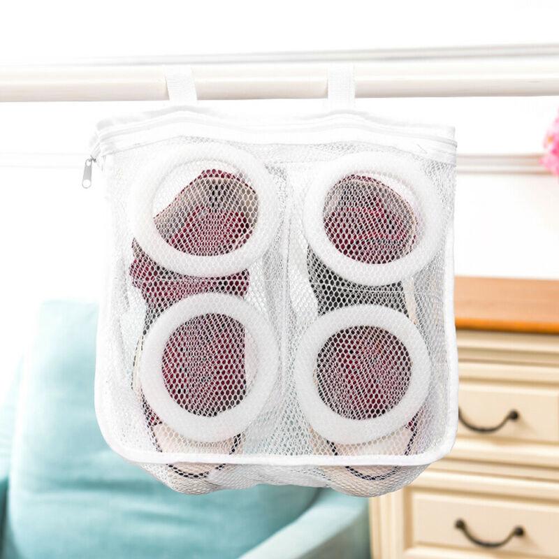 2019 Fashion Hot Sales Washing Machine Storage Mesh Laundry Bag Shoe Bags Shoes Wash Net Dry Organizer