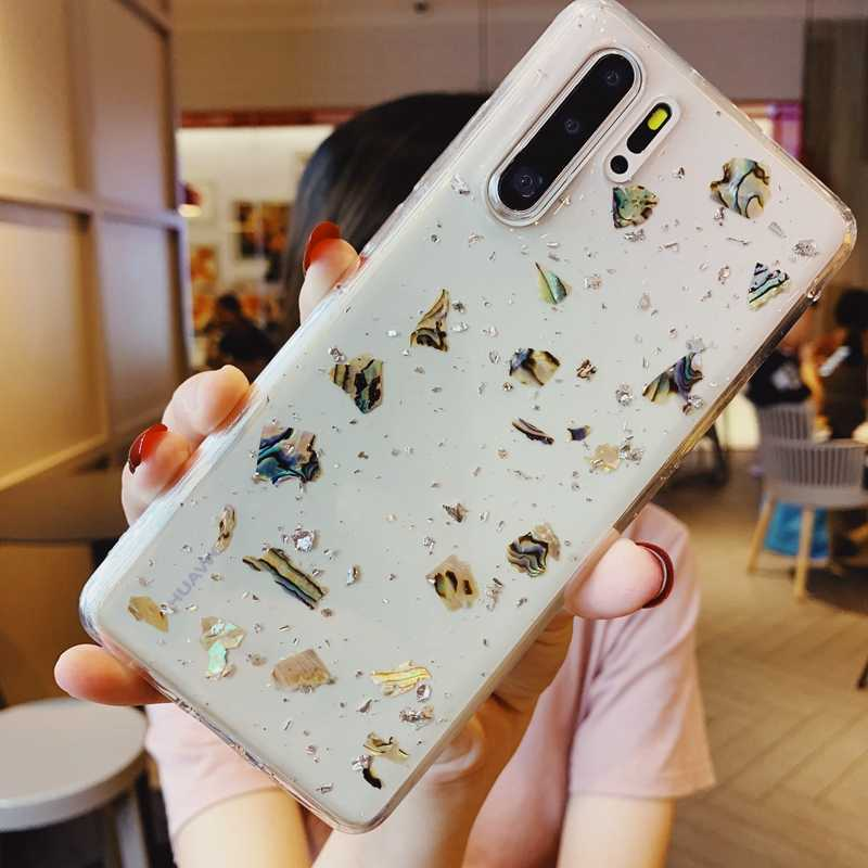 Bling Glitter Sequin Clear Soft Silicone TPU Case CoverFor Huawei P20 Lite P30 Mate 20 30 Nova3 3i 4 5 Honor 9 10 20 Pro Coque