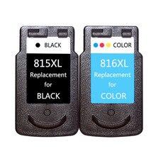 Cartuchos de Tinta de impressora Compatível Para Canon PG815 CL816 para Canon IP2780 MP236 MP259 MP288 MX348 MX358 MX418 Impressora PG 815
