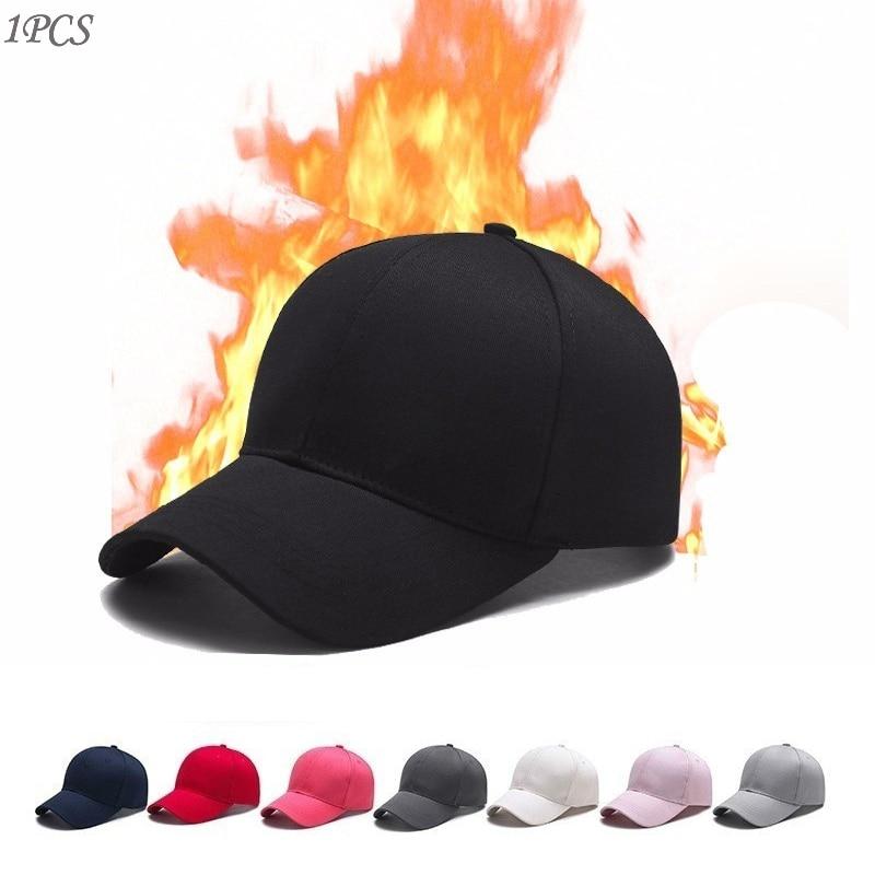 Women Men Hat Curved Sun Visor Light Board Solid Color Baseball Cap   Outdoor   Adjustable Sports Caps In Summer