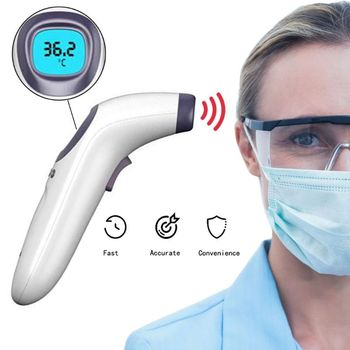 Forehead Thermometer,Infrared Thermometer for Body Without Contact Digital Thermometer for Adults