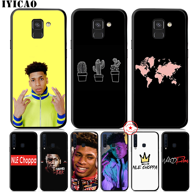 IYICAO NLE Choppa Rapper Soft Phone <font><b>Case</b></font> for <font><b>Samsung</b></font> <font><b>Galaxy</b></font> A50 <font><b>A70</b></font> A60 A40 A30 A20 A10 M40 M30 M20 M10 Cover Silicone image