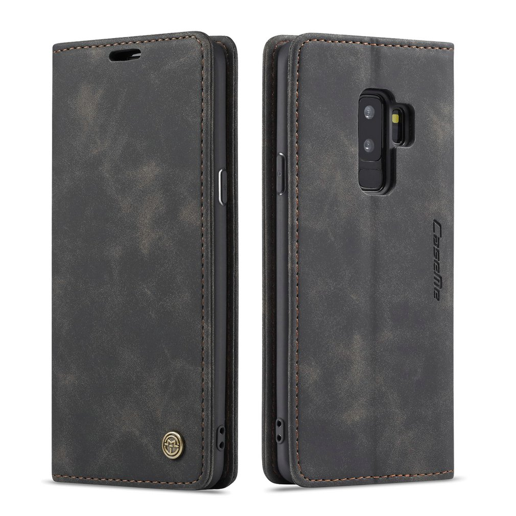 Ultra-Thin Business Wallet Mobile Phone Case Fashionable Mobile Phone Wallet Holster For Samsung Galaxy S9