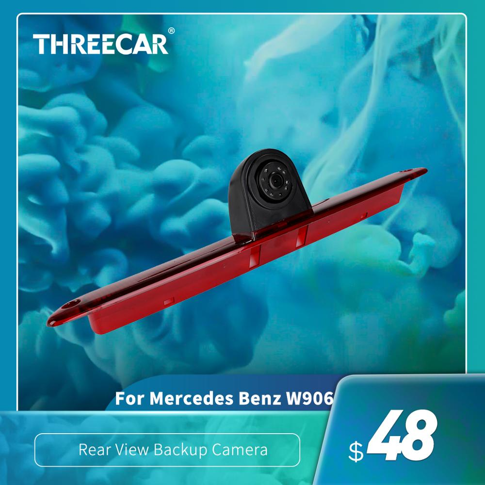 Car Brake Light Rear View Backup Camera For Mercedes Benz W906 Sprinter Volkswagen VW Crafter LED Light Parking Reverse Camera