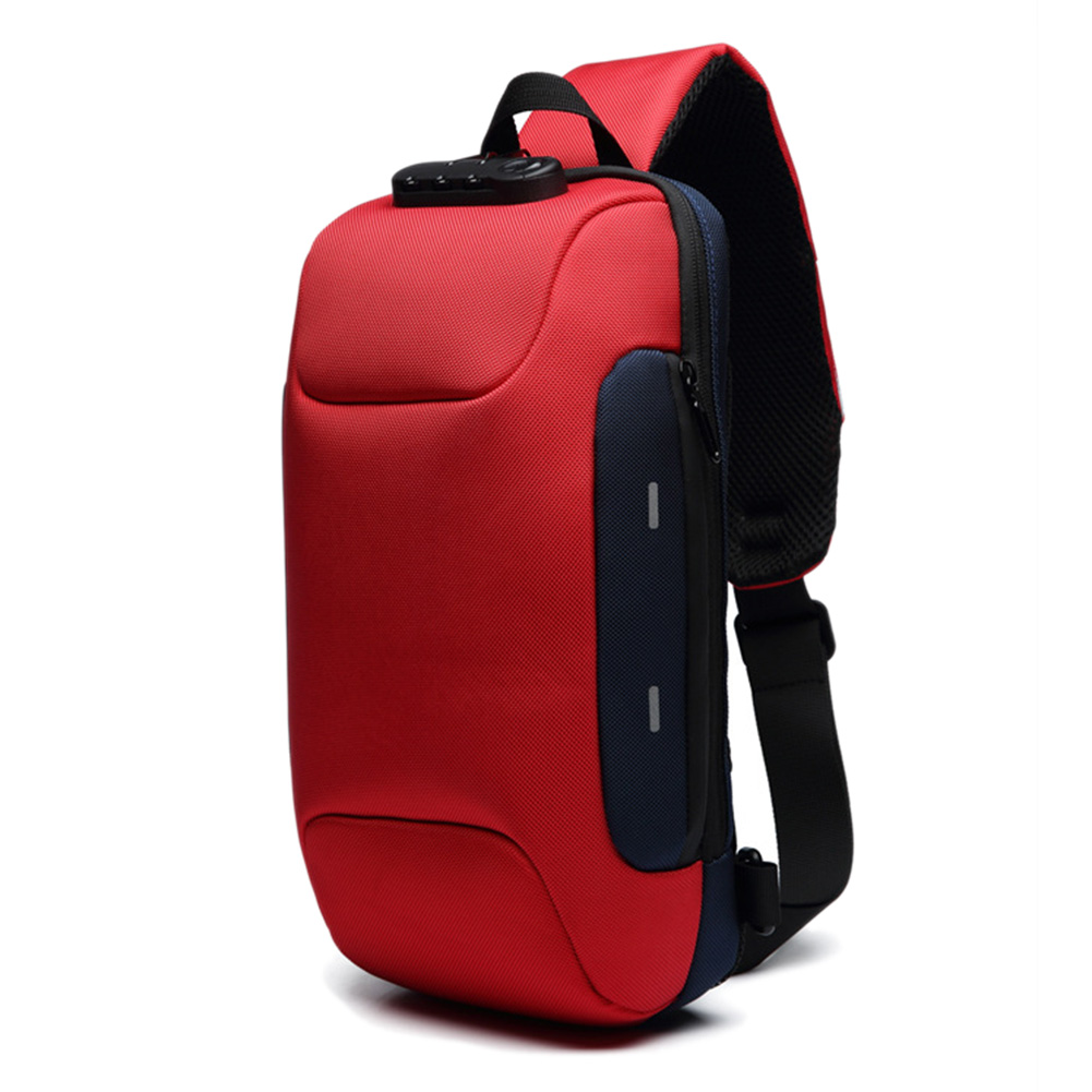 Newly Anti-theft Backpack With 3-Digit Lock Shoulder Bag Waterproof For Mobile Phone Travel CTN88