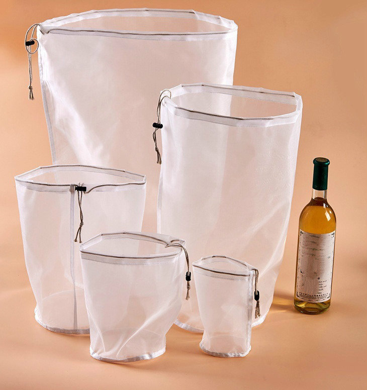 Nut Milk Bag Commercial GradeFine Mesh Nylon Bag Cheesecloth Cold Brew Coffee Filter Reusable Fruit Juice Vegetable Juice