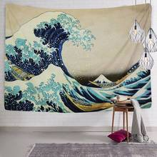 Tapestry Wall Hanging Tapestries The Great Wave Kanagawa by Katsushika Hokusai Blanket Art Home Decor