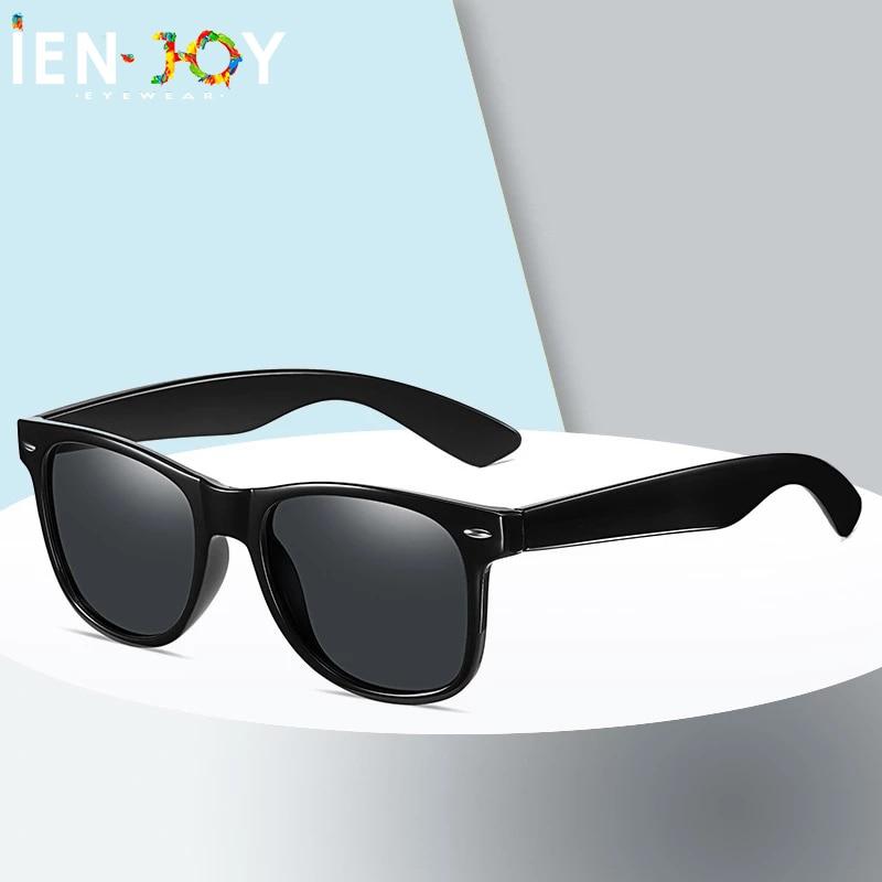 IENJOY Men Sunglasses 2021 New Fashion Square Sun Glasses Polarized Glasses Driving Sunglasses Unisex Eyeglasses