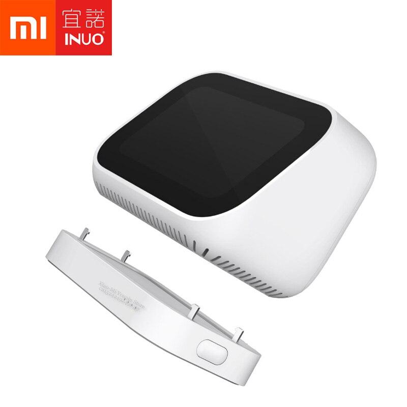 Para Xiaomi AI Touch Screen Bluetooth 5.0 Speaker Speaker Alarm Clock Display Digital Inteligente Companion 5000mAh Mover Poder Titular