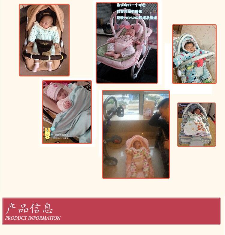 Hbfa3d103470a4b6492432ef4f87c6f69y Baby Rocking Chair Multi-function Artifact Baby Comfort Recliner Shake Bed Sleeping Children Cradle Bed Bassinet
