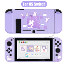 Nintendo Switch用ソフトTPU保護ケース,パープル,ソフトバックケース,スイッチ付き,直接配送