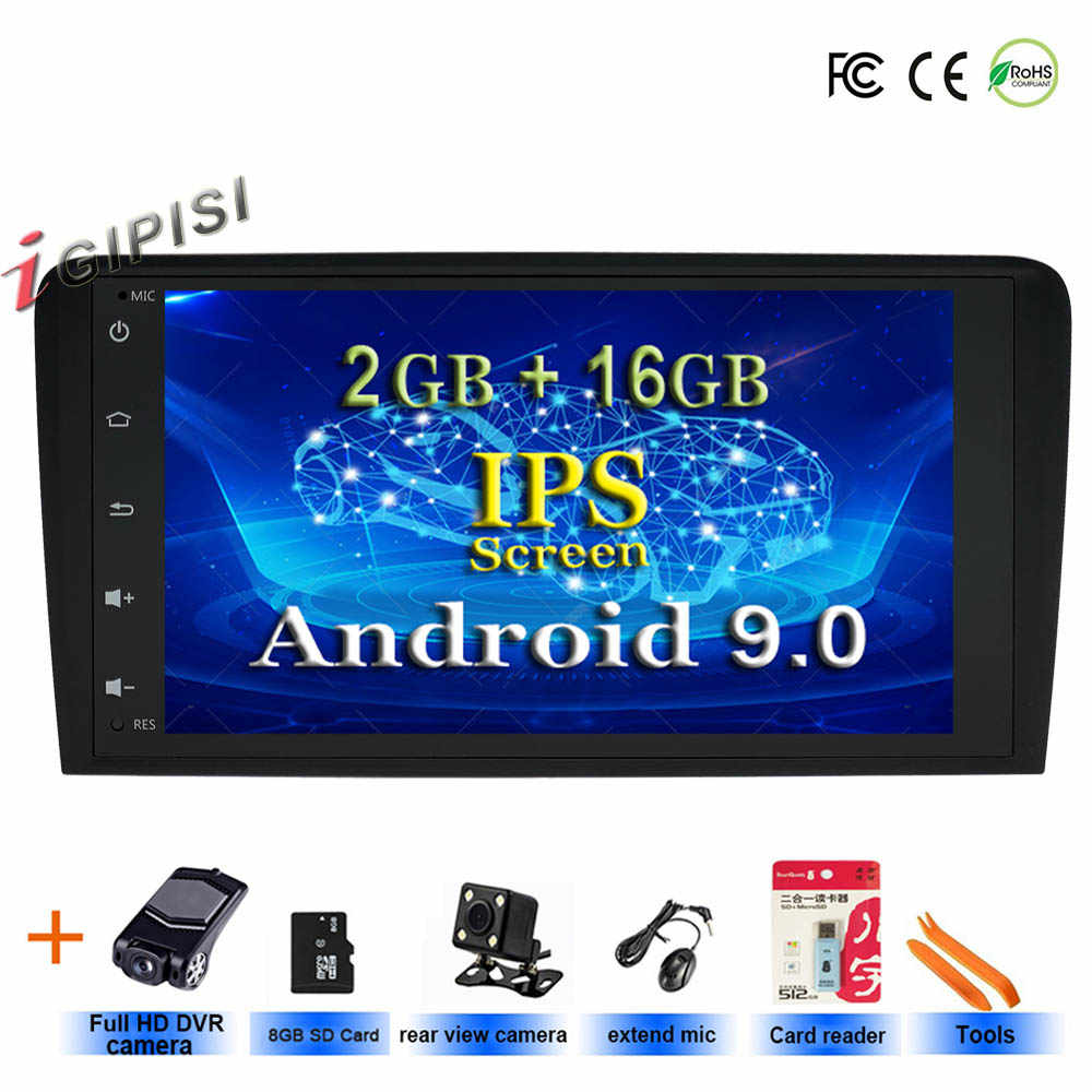 Android 9.0 stereo CAR Radio GPS Para Audi A3 8P 2003-2012 S3 2006-2012 RS3 Sportback 2011 No DVD multimídia player de rádio stereo