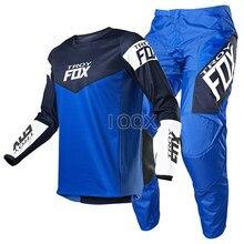 Combinaison de course de Motocross 180 Revn pantalon et maillot vtt tout-terrain Moto Dirt Bike DH MX ATV ensemble de vitesse de Moto Mx Combo