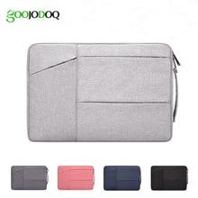 Bolsa para laptop 14 13 15 polegadas, pasta portátil para notebook macbook air 13, maleta de mão 15.6 para tablet